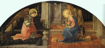 Fra Filippo Lippi : The Annunciation